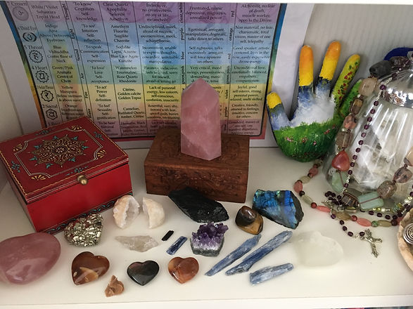Crystals for protection and healing