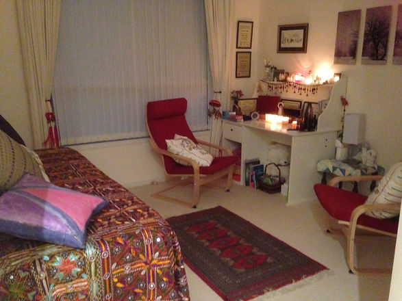 Calming Nature therapy room - my 'shinto' meaning small temple