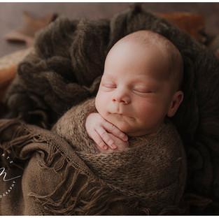 Kleine süße Schlafmütze