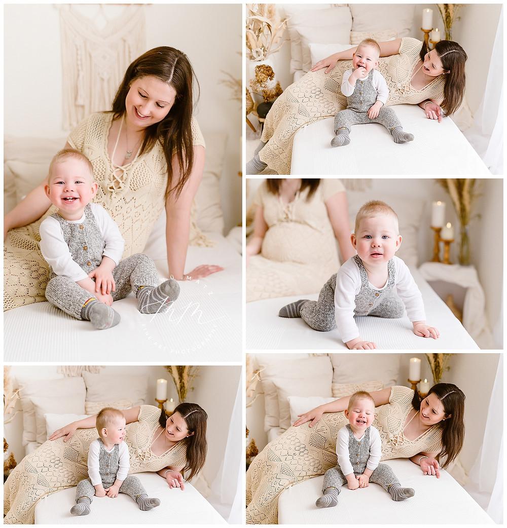 liebevolle Schwangerschaftsbilder