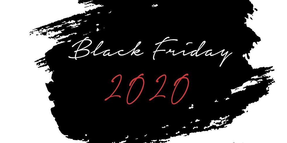 """Wertgutschein Aktion  """"Black Friday 2020"""""""