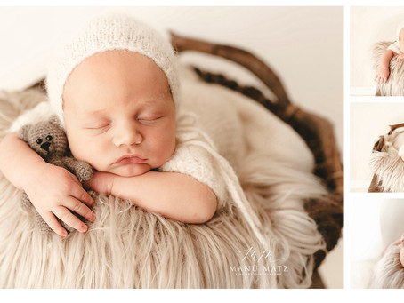 Neugeborenenshooting so wundervoll....