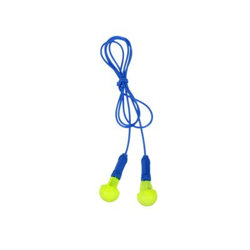 3M™ E-A-R™ Push-Ins™ Earplugs 318-1001, Corded, Poly Bag