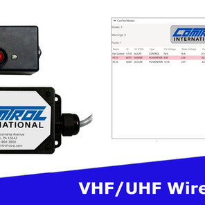 Comtrol's New VHF/UHF Wireless Control Nodes