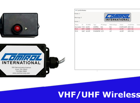 Comtrol's New VHF/UHF Wireless Control Nodes