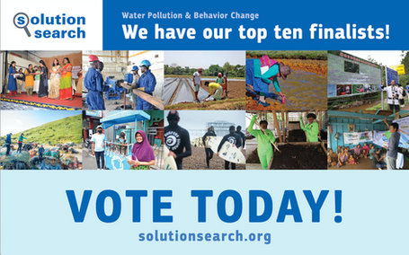 The Finalists in the Solution Search: Water Pollution & Behavior Change
