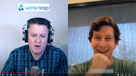 waterloop #17: Eric Adler on Tracking Water Use at Home with Flume