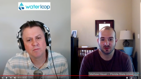 waterloop #24: Mathew Hauer on Human Migration Driven by Climate Change