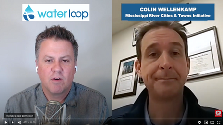 waterloop #56: Colin Wellenkamp on Mississippi River Cities and Towns