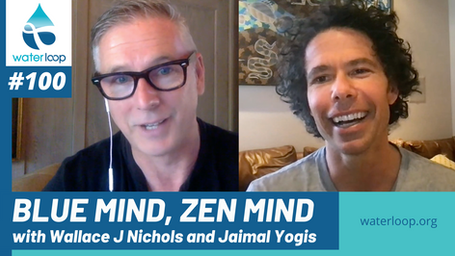 waterloop #100: Blue Mind, Zen Mind with Wallace J Nichols and Jaimal Yogis