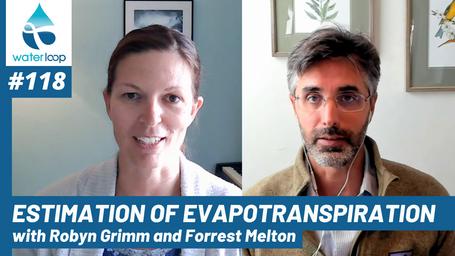 waterloop #118: Estimation Of Evapotranspiration