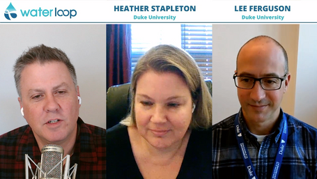 waterloop #65: Heather Stapleton and Lee Ferguson on Studying PFAS Exposure in North Carolina