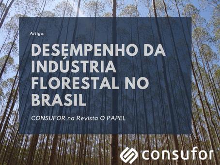 Desempenho da Indústria Florestal no Brasil