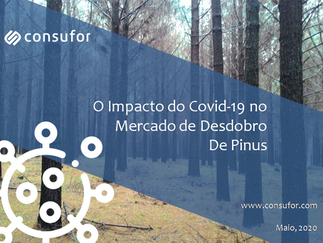 O Impacto do Covid-19 no Mercado de Desdobro de Pinus