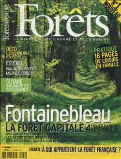 couverture Forets magazine