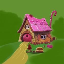 maison en bonbon