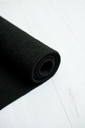 שטיח כותנה שחור