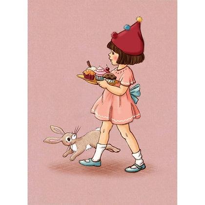 Belle & Boo גלוית יום הולדת