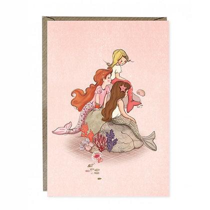 Belle & Boo גלוית בנות ים