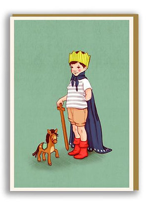 Belle & Boo גלוית מלך