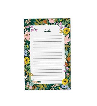 1# פרחוני NotePad