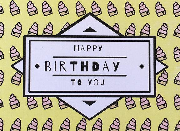 ברכת יום הולדת קאפקייקס