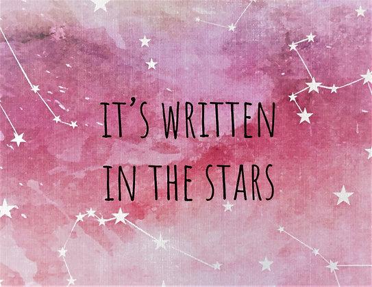 ברכת זה כתוב בכוכבים