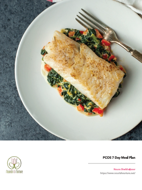 PCOS 7 Days Meal Plan