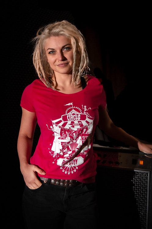 T-Shirt (size: XS, S, M, L, XL) - diverse Farben (girlie)