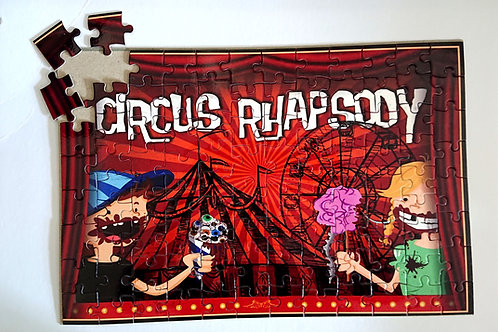 Puzzle Circus-Banner 96 Teile