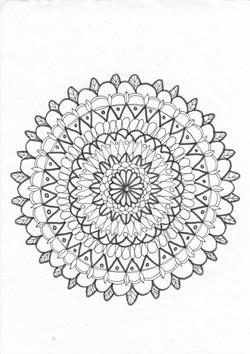 37 Muster Zacken Schwünge Blüte