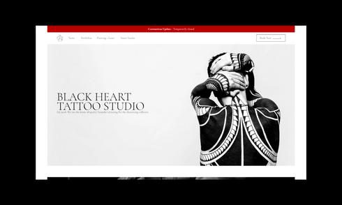 Black Heart Tattoo Studio