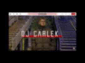 DJ Carlek Website Design By Tom Gray
