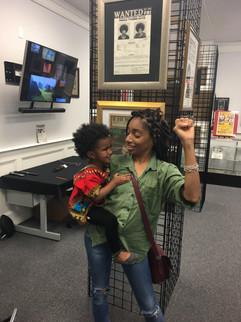 Mother & Daughter celebrate Black History