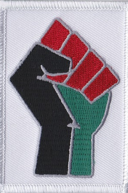 RBG Black Power Fist Exclusive Black History Patch