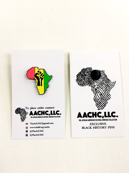 African Motherland Pride Exclusive Black History Pin