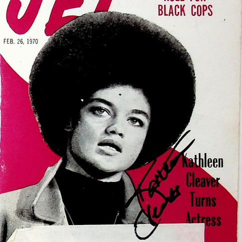 The Legendary Kathleen Cleaver speaks on the rarity of the AACHC exhibit artifacts