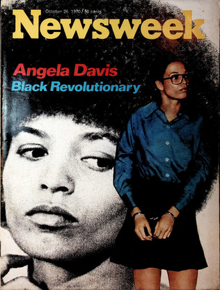 Angela Davis Newsweek Magazine Cover