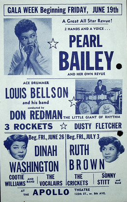 June 1953 Apollo Theatre Flyer