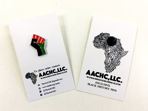 RBG Black Power Fist Exclusive Black History Pin