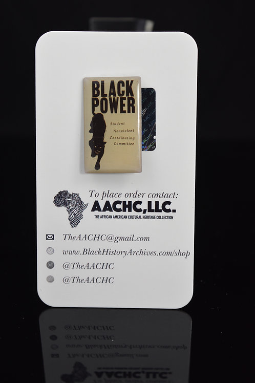 SNCC Black Power Pin