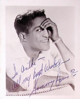 Signed Sammy Davis Jr. Photo
