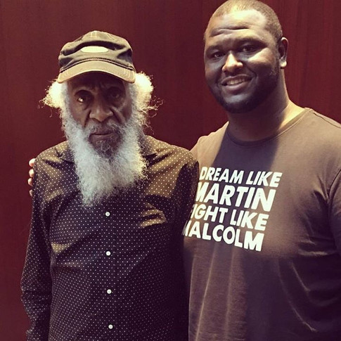 The Legendary Dick Gregory speaks about the AACHC