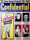 Extremely RARE Confidential Magazine of Emmett Till's Dad