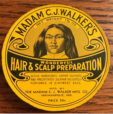 Rare Madam C.J. Walker Original Product