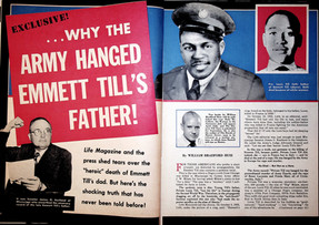Extremely RARE Confidential Magazine's Exclusive ...Why The Army Hanged Emmett Till's Father!
