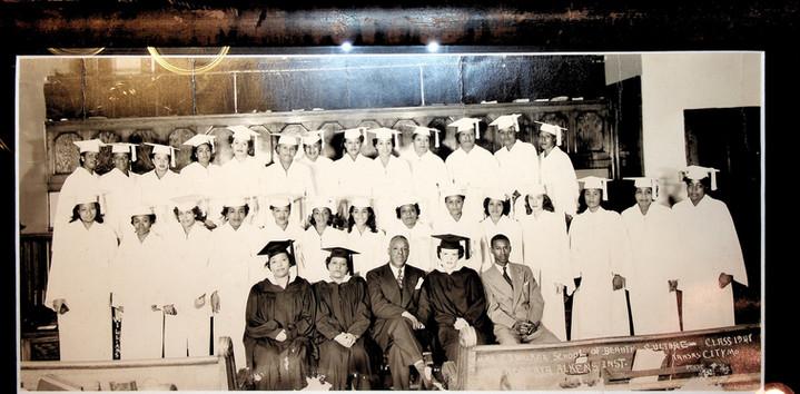 Rare 1948 Madam CJ Walker Kansas City, MO Class photo