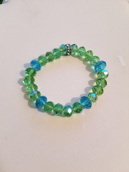 Green Aqua Bracelet