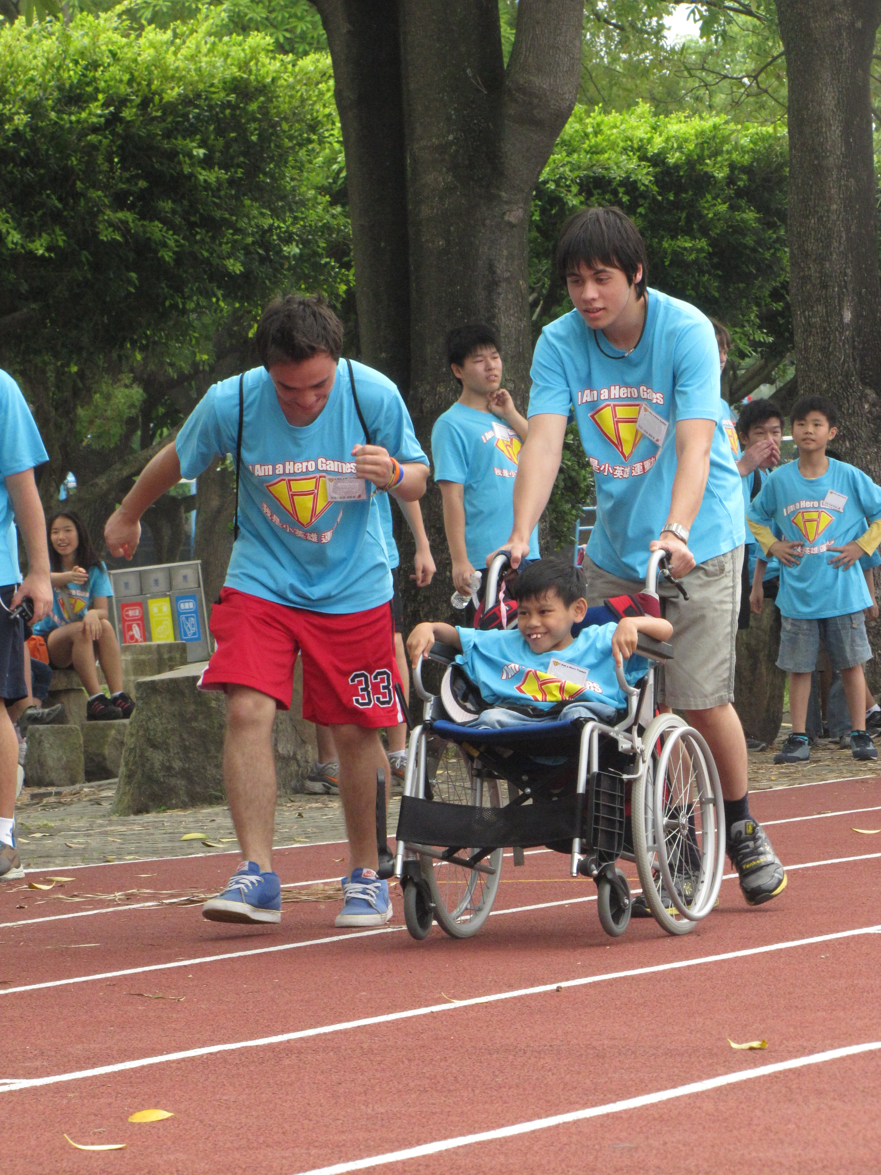 Heroes helping heroes!
