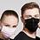 Thumbnail: Mund-Nasen-Masken Farbig 50 Stk